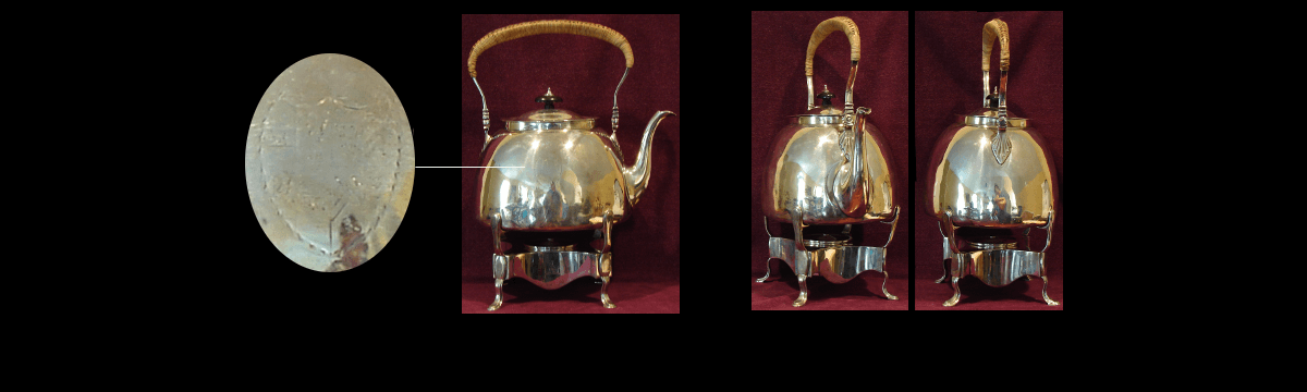 Sterling Silver Kettle on Stand