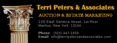 Terri Peters & Associates Auction and Estate Marketing contact info