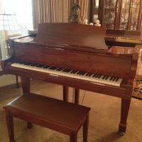 August 14, (Friday), 2015 -  Quality Estate Sale in Fayetteville including Grand Piano, Quality Furnishings, Vintage Jukebox, Brewania, Ethnographic Sculptures and more!!