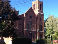 December 14 (Saturday), 2013 - Syracuse's West Side Spectacular Iconic United Methodist Church Building up for Auction!