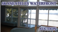 May 3, (Saturday), 2014 -  Skaneateles Waterfront Property up for Auction UNRESERVED!